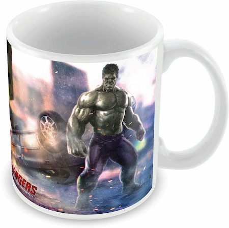 Marvel Hulk in Action - Avengers Ceramic Mug