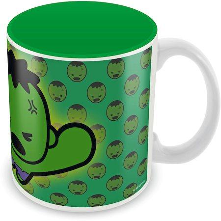 Marvel Kawaii Art - Hulk Ceramic Mug