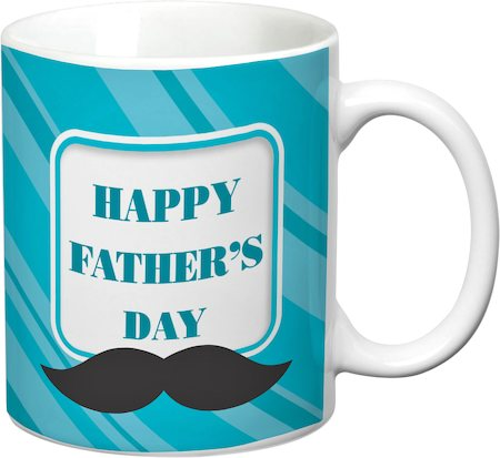 Prithish Happy Father's Day Design 3 White Mug