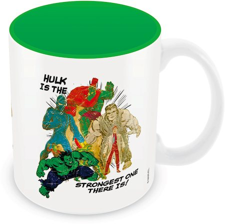 Marvel Comics Strongest Hulk Ceramic Mug