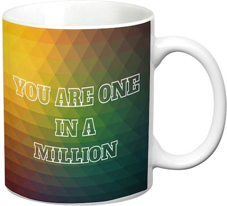 Prithish One In A Million White Mug