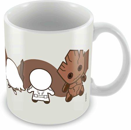 Marvel Kawaii Art - Guardians of Galaxy Ceramic Mug