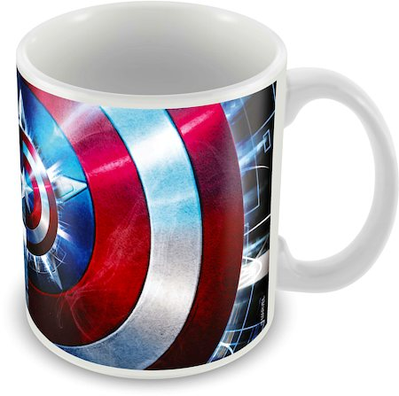 Marvel Captain America Marvel Ceramic Mug