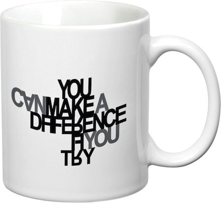 Prithish You Can Make A Difference. If You Try White Mug