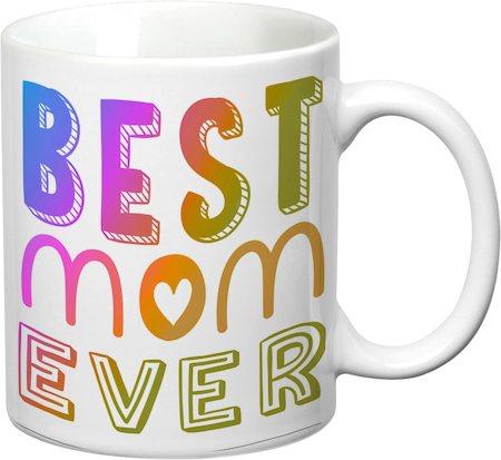 Prithish Best Mom Ever White Mug