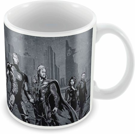 Marvel Avengers - Graphic Ceramic Mug
