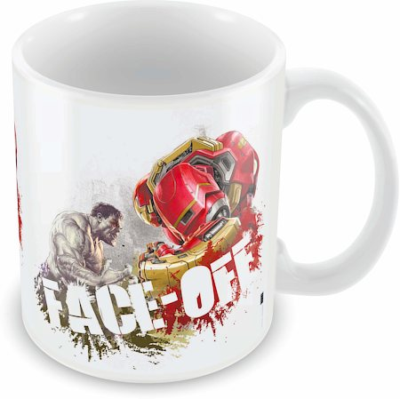 Marvel Face off - Avengers Ceramic Mug