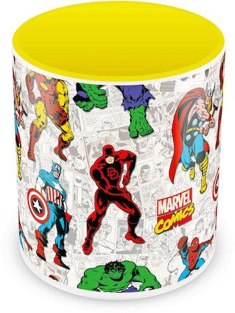 Marvel Comics All Characters Ceramic Mug