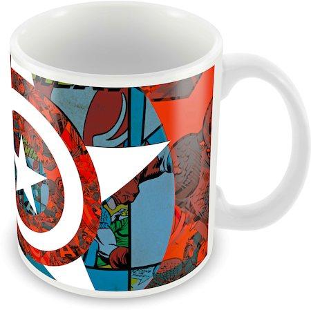 Marvel Classic Captain America - 75 Years Ceramic Mug