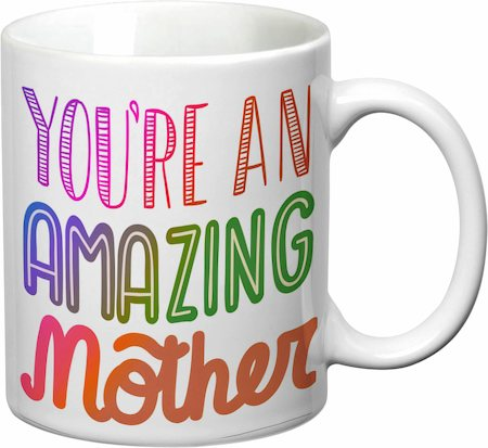 Prithish You're An Amazing Mother White Mug