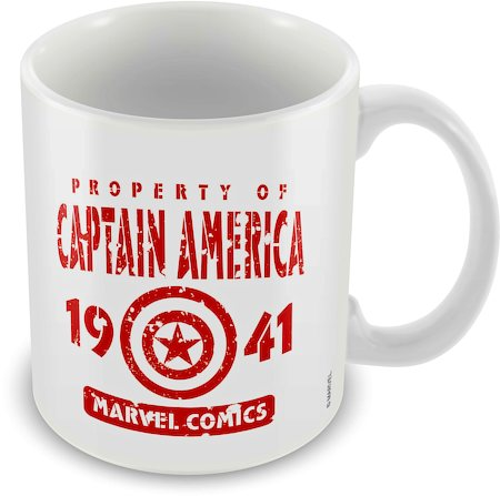 Marvel Captain America 1941 Ceramic Mug