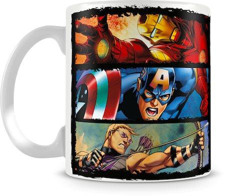 Marvel In Action - Avengers Assemble Ceramic Mug