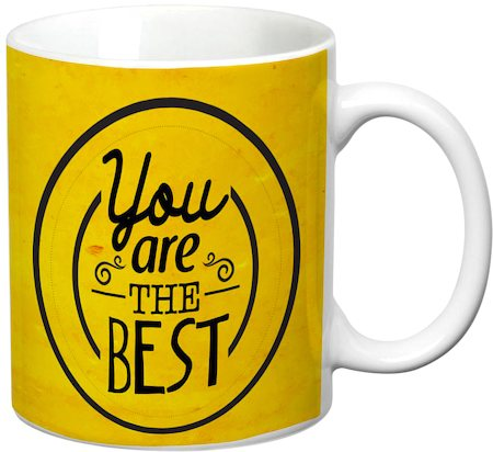 Prithish You Are The Best White Mug