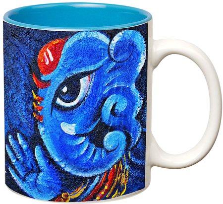 Prithish Ganpati Bappa Design 4 Double Color Mug