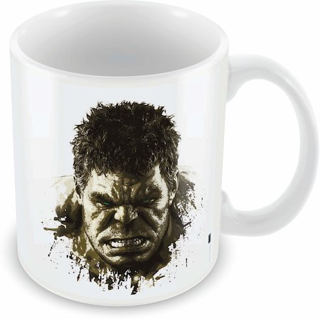 Marvel Hulk Sketch Ceramic Mug
