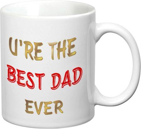 Prithish Ur The Best Dad Ever White Mug