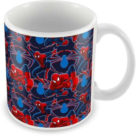 Marvel Spider-Man Collage Ceramic Mug