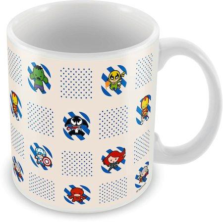 Marvel Kawaii Characters Ceramic Mug