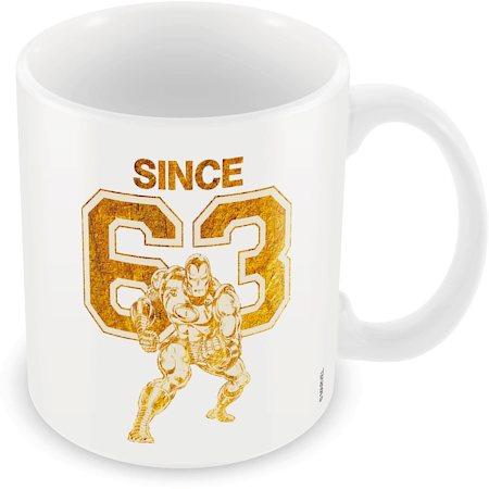 Marvel Iron Man Since 63 Ceramic Mug