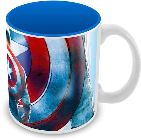 Marvel Avenger Captain America Classic Ceramic Mug