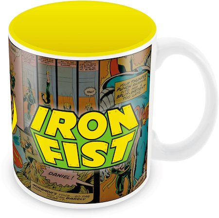 Marvel Iron Fist - Comics Ceramic Mug
