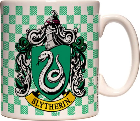 Warner Brothers Harry Potter and The Deathly Hallows - Slytherin Mug