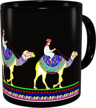 Kolorobia Royal Camel Classic Black Mug