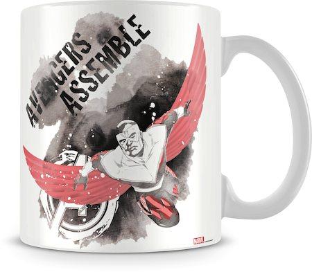 Marvel Avengers Assemble Fly Ceramic Mug