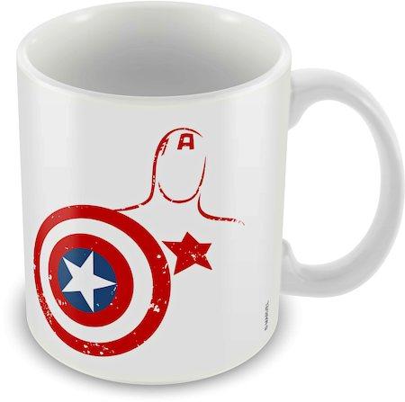 Marvel Captain America New Logo Ceramic Mug