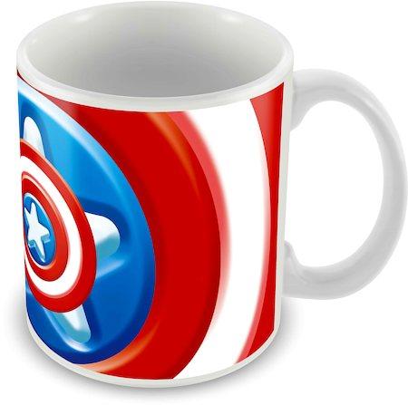 Marvel Avenger Captain America - 75 Years Ceramic Mug
