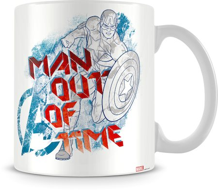 Marvel Assemble - Man Out of Time Ceramic Mug