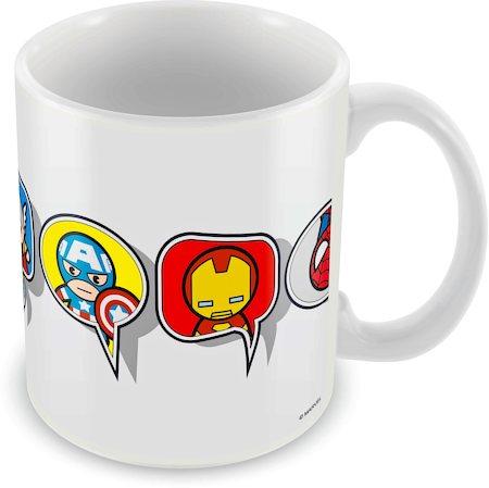 Marvel Kawaii Art - Window Ceramic Mug