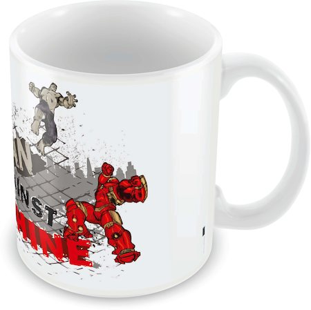 Marvel Against the Machine - Avengers Ceramic Mug