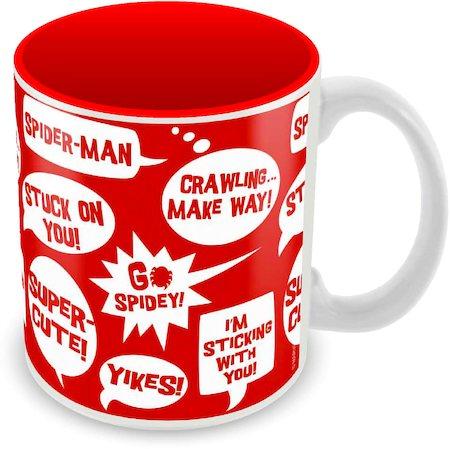 Marvel Spider-Man Cuper Cute Ceramic Mug