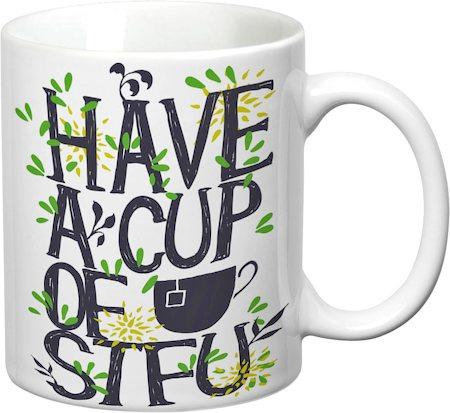Prithish A Cup Of STFU White Mug