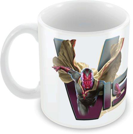 Marvel Vision Fly Ceramic Mug