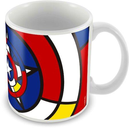 Marvel Captain America Art Design Ceramic Mug