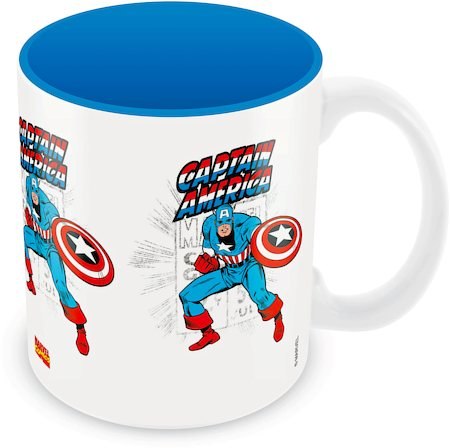Marvel Comics Captain Fight Ceramic Mug