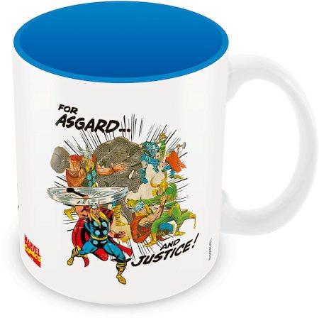 Marvel Comics Asgard and Justice Ceramic Mug
