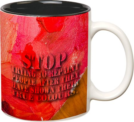 Prithish True Colors Double Color Mug