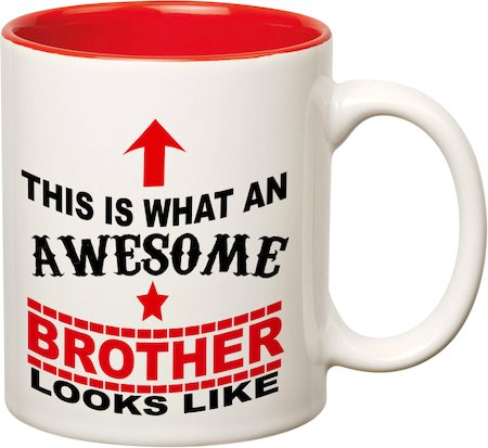 Prithish Awesome Brother Double Color Mug