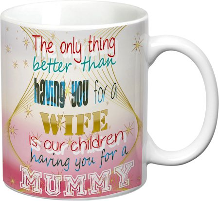 Prithish Better Than Having You For A Wife White Mug