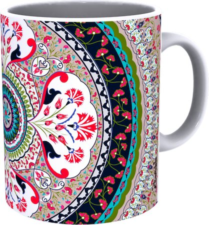 Kolorobia Stylish Turkish Red Mug