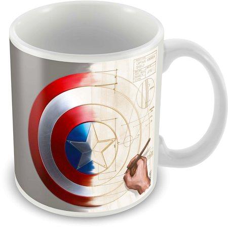Marvel Captain America - 75 Years Classic Art Ceramic Mug