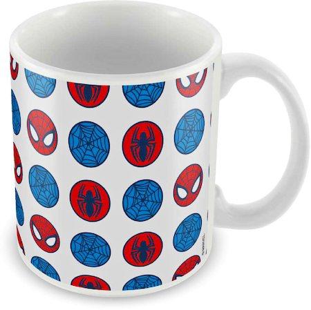 Marvel Spider-Man Face Art Ceramic Mug