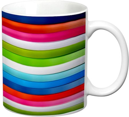 Prithish Abstract Design 44 White Mug
