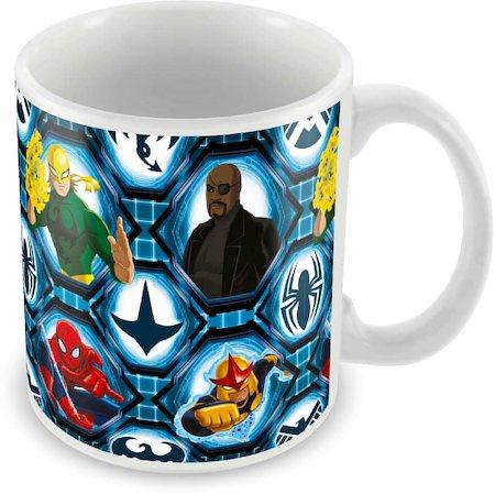 Marvel Ultimate Spider-Man All Cast Ceramic Mug