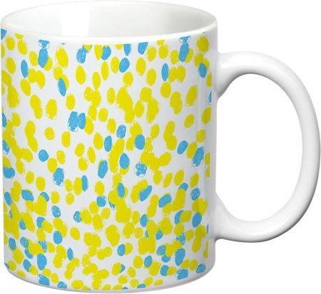 Prithish Abstract Design 24 White Mug