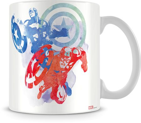 Marvel Captain America Sketch Ceramic Mug