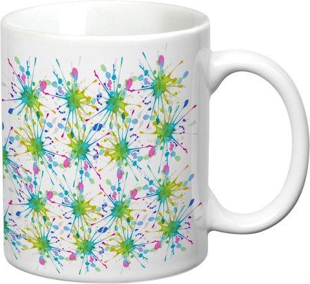 Prithish Colour Splash Design 2 White Mug